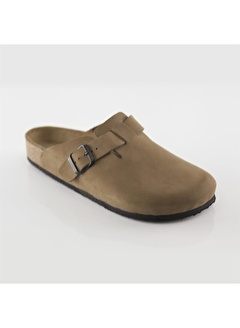 Ballerins Hakiki Deri Sandalet